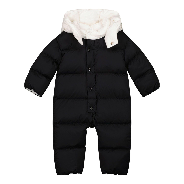 Bild von Moncler 1G52100 Baby-Schneeanzug Schwarz