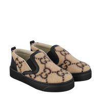 Picture of Gucci 580847 kids sneakers beige