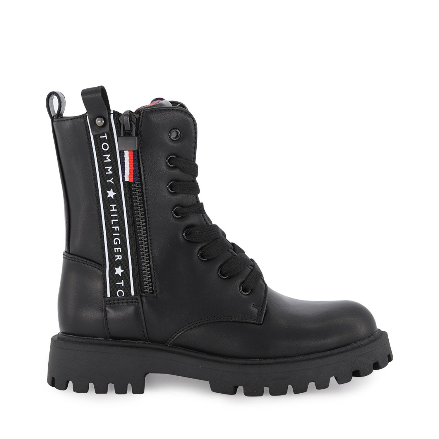 Picture of Tommy Hilfiger 30851 kids boots black