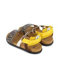 Picture of Fendi JMR340 AEGK kids sandals brown