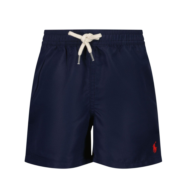 Picture of Ralph Lauren 320785582 baby swimwear navy