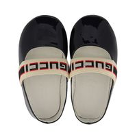 Picture of Gucci 552925 baby shoes navy