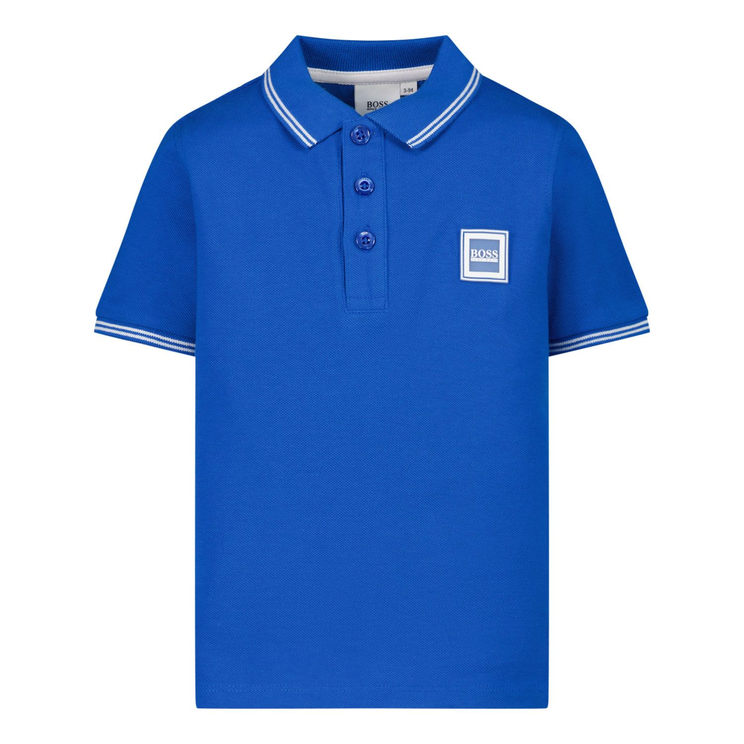Picture of Boss J05846 baby poloshirt cobalt blue