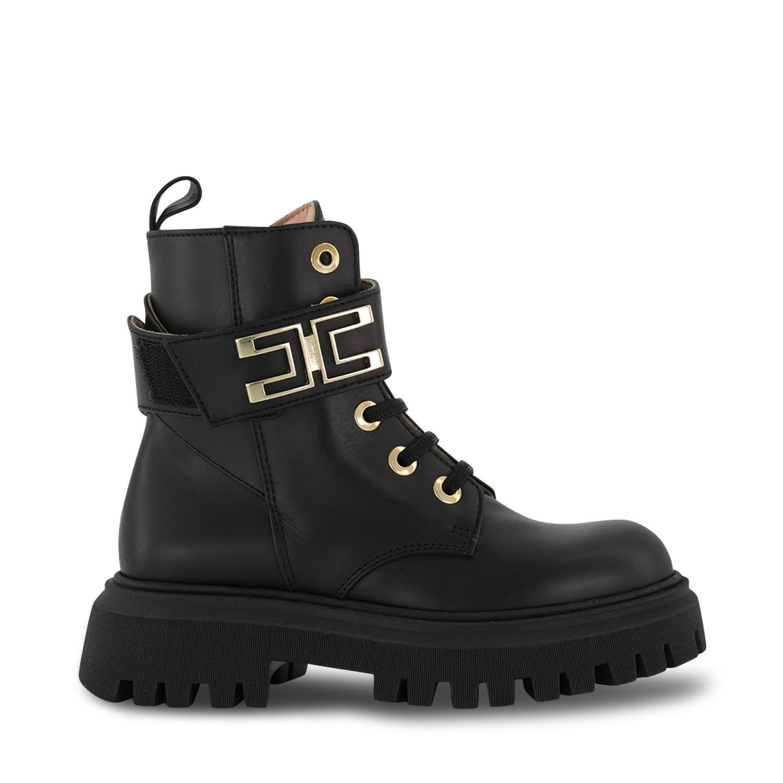 Picture of Elisabetta Franchi 69832 kids boots black