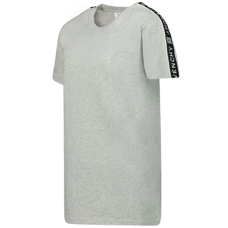 Afbeelding van Givenchy H25174 kinder t-shirt grijs