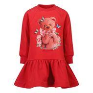 Bild von MonnaLisa 198906SI Babykleid Rot
