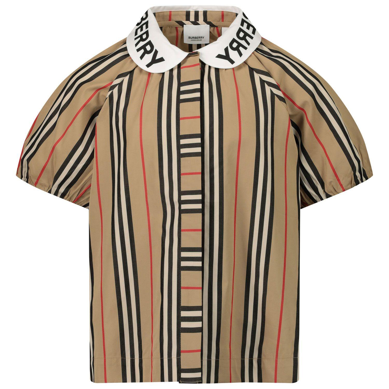 Afbeelding van Burberry 8030579 kinder overhemd beige