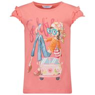 Afbeelding van Mayoral 3013 kinder t-shirt koraal