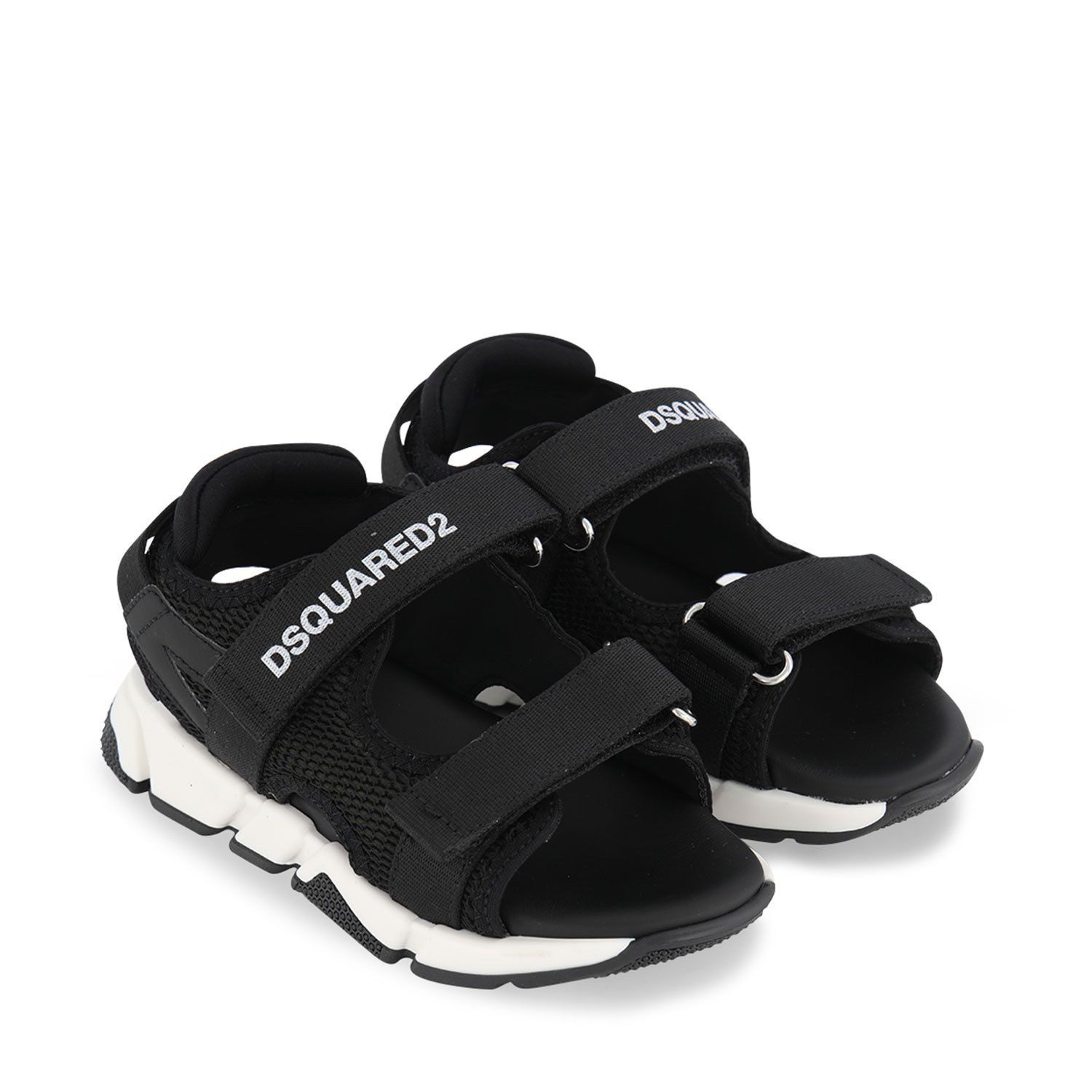 Picture of Dsquared2 67029 kids sandals army