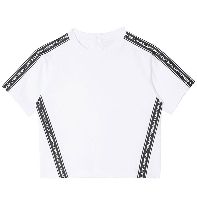 Afbeelding van Burberry 8026184 baby t-shirt wit