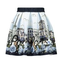 Picture of MonnaLisa 116701 kids skirt navy