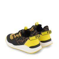 Picture of Fendi JMR362 AEGR kids sneakers brown