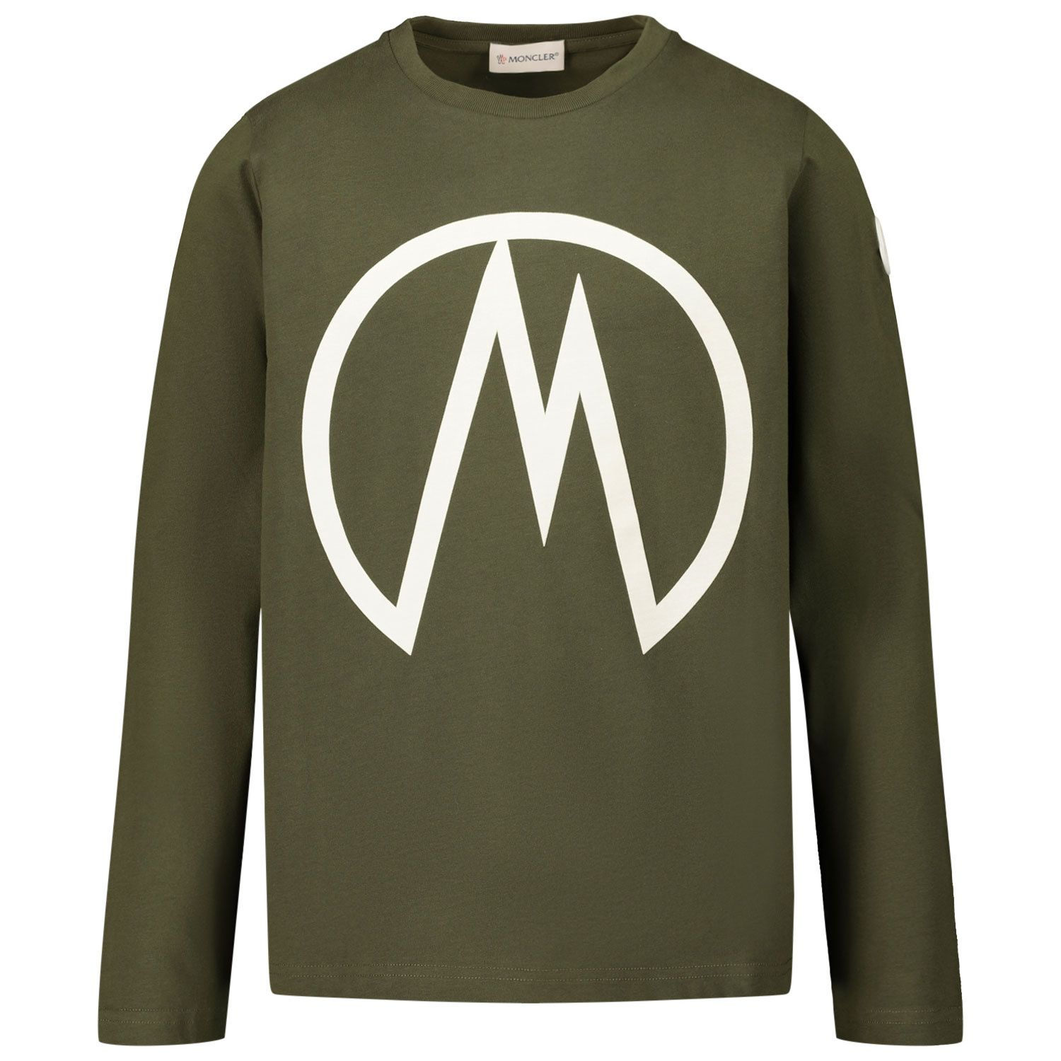 Picture of Moncler 8D70620 kids t-shirt green