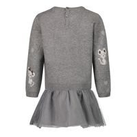 Picture of Mayoral 2923 baby dress grey