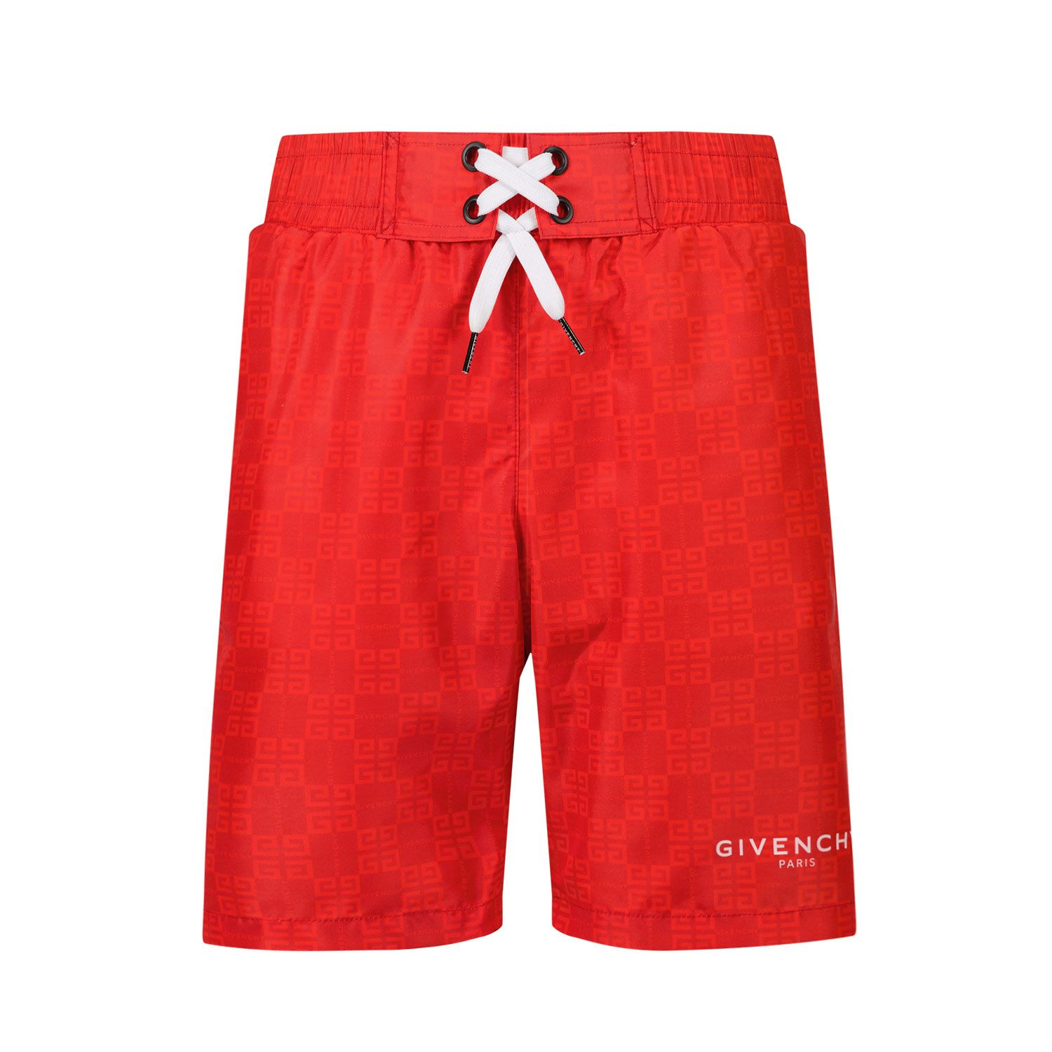 Picture of Givenchy H20045 kids swimwear red