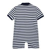 Picture of Ralph Lauren 320833446 baby playsuit light blue