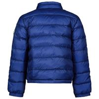 Picture of Moncler 1A10400 baby coat cobalt blue