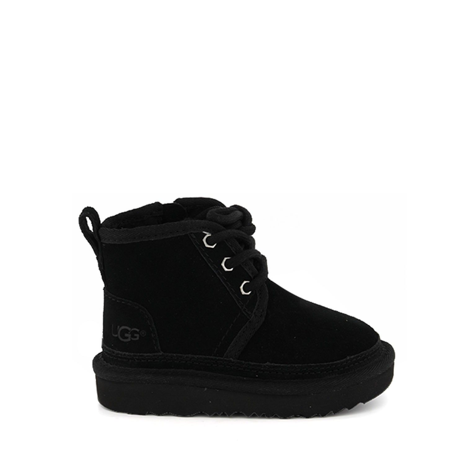Picture of Ugg 1017320 kids boots black