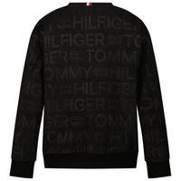 Picture of Tommy Hilfiger KB0KB06981 kids sweater black