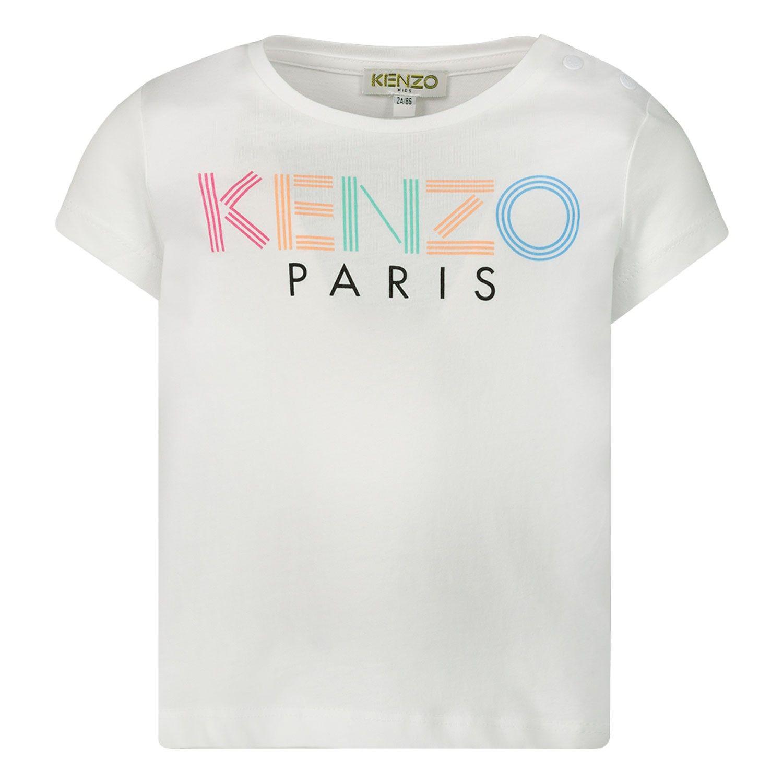 Bild von Kenzo 10087 Baby-T-Shirt Weiß