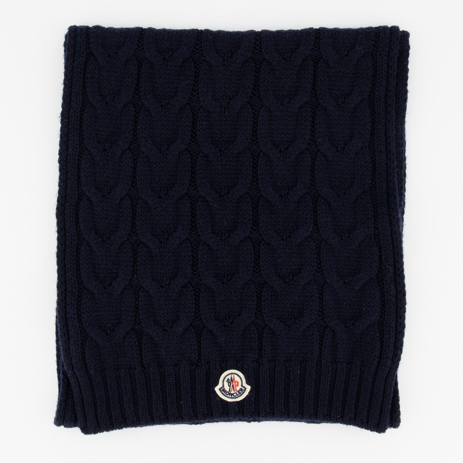 Picture of Moncler 1605 kids scarf navy
