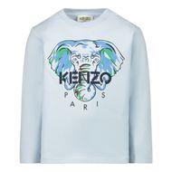 Bild von Kenzo KR10527 Baby-T-Shirt Hellblau