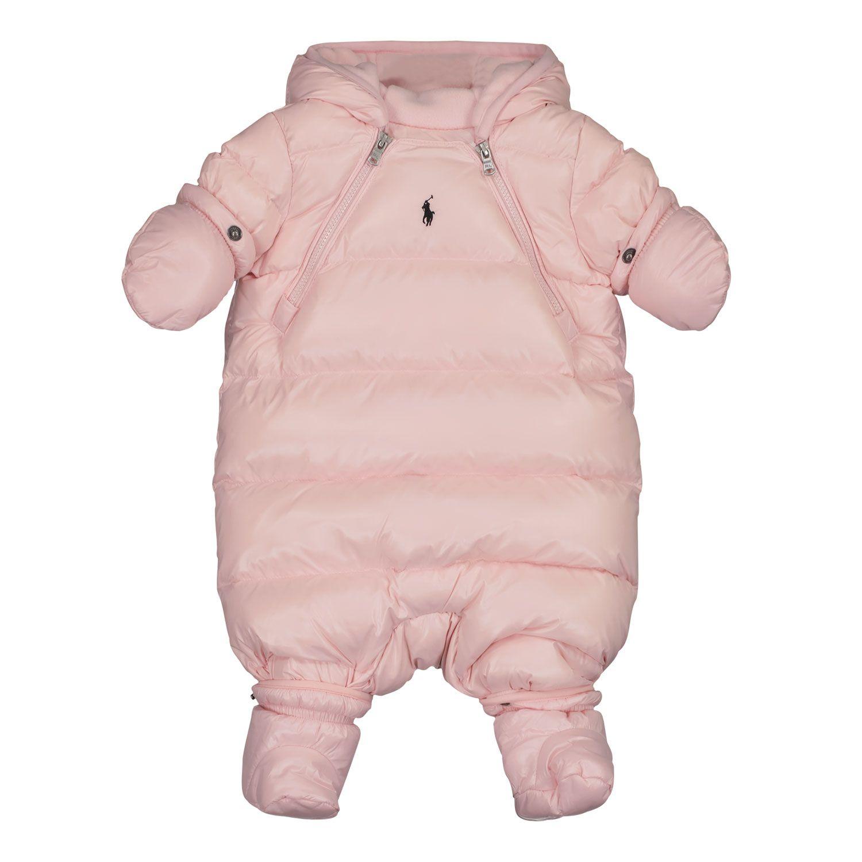Bild von Ralph Lauren 853014 Baby-Schneeanzug Hellrosa