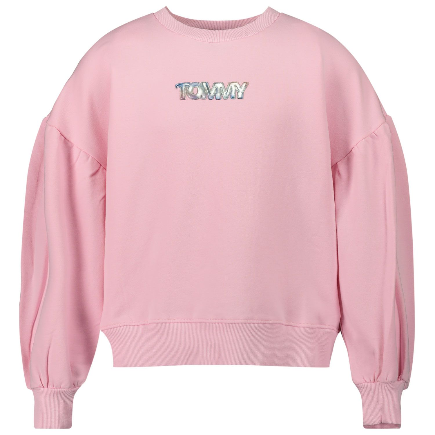 Picture of Tommy Hilfiger KG0KG05493 kids sweater light pink