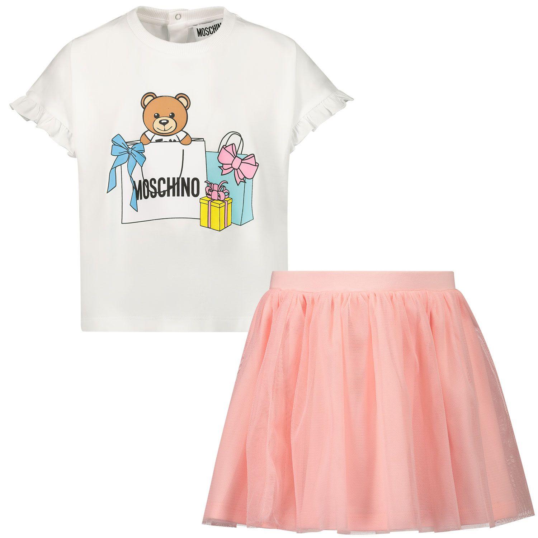 Bild von Moschino MDG00A Baby-Set Pink