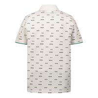 Picture of Boss J05882 baby poloshirt white