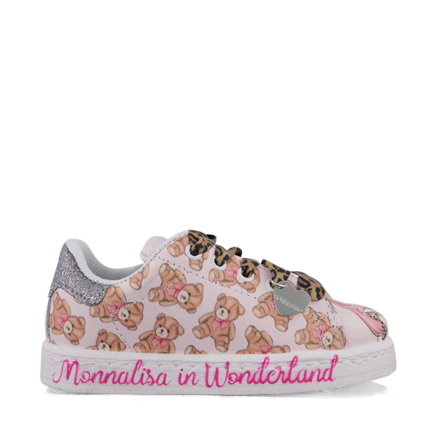 Picture of MonnaLisa 8C6011 kids sneakers light pink