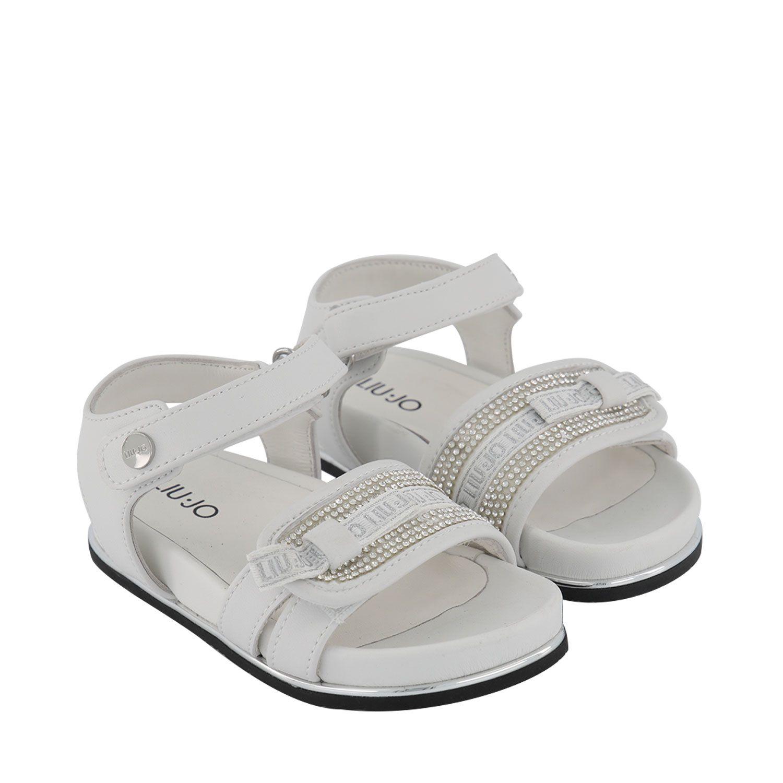 Picture of Liu Jo 4A1315 kids sandals white