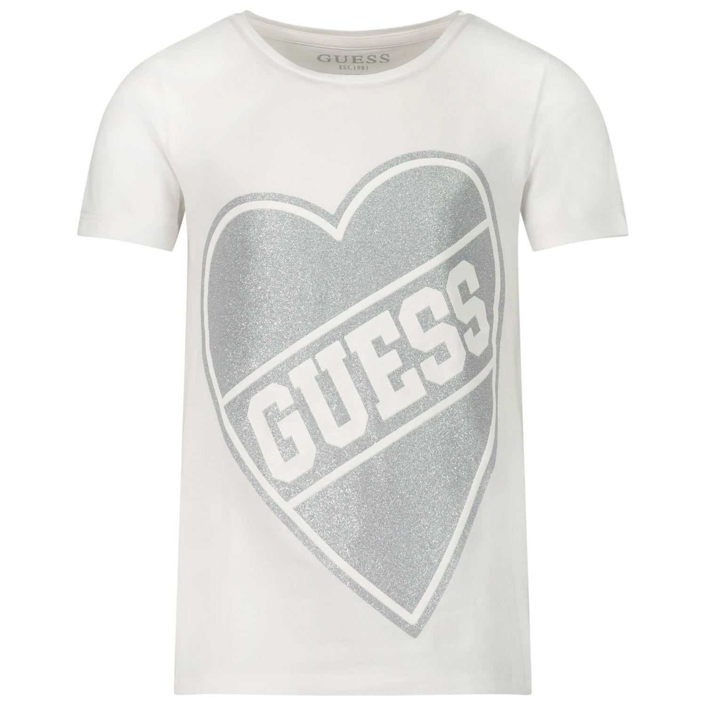 Bild von Guess K0YI02/K6YW0 Baby-T-Shirt Weiß
