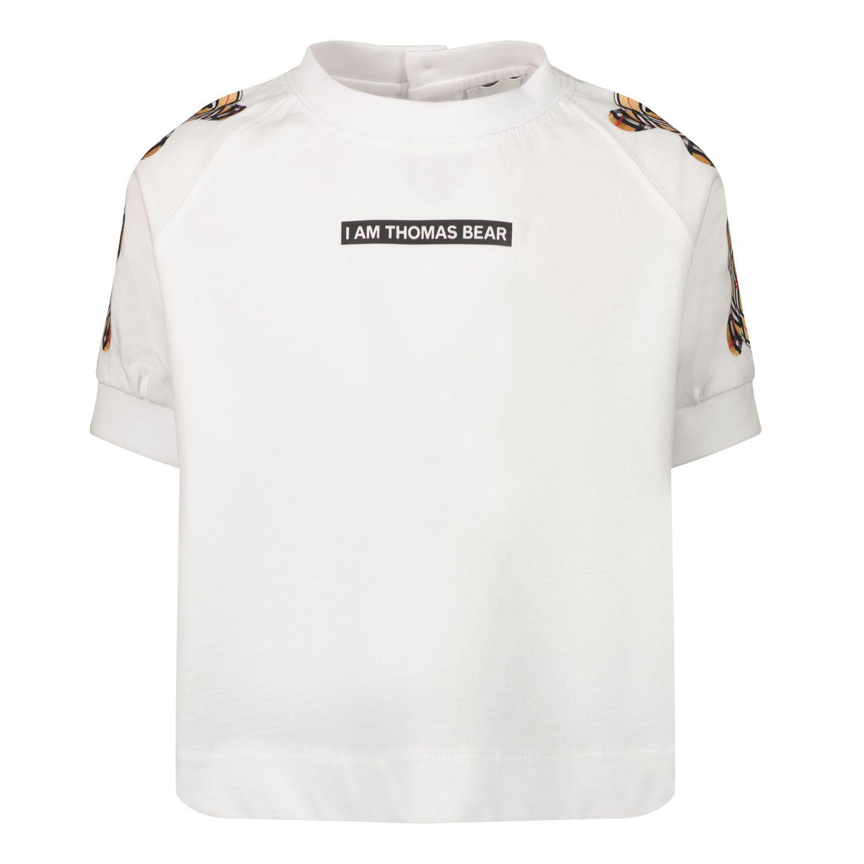 Bild von Burberry 8041213 Baby-T-Shirt Weiß