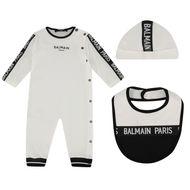 Bild von Balmain 6M0860 Babystrampelanzug Weiß