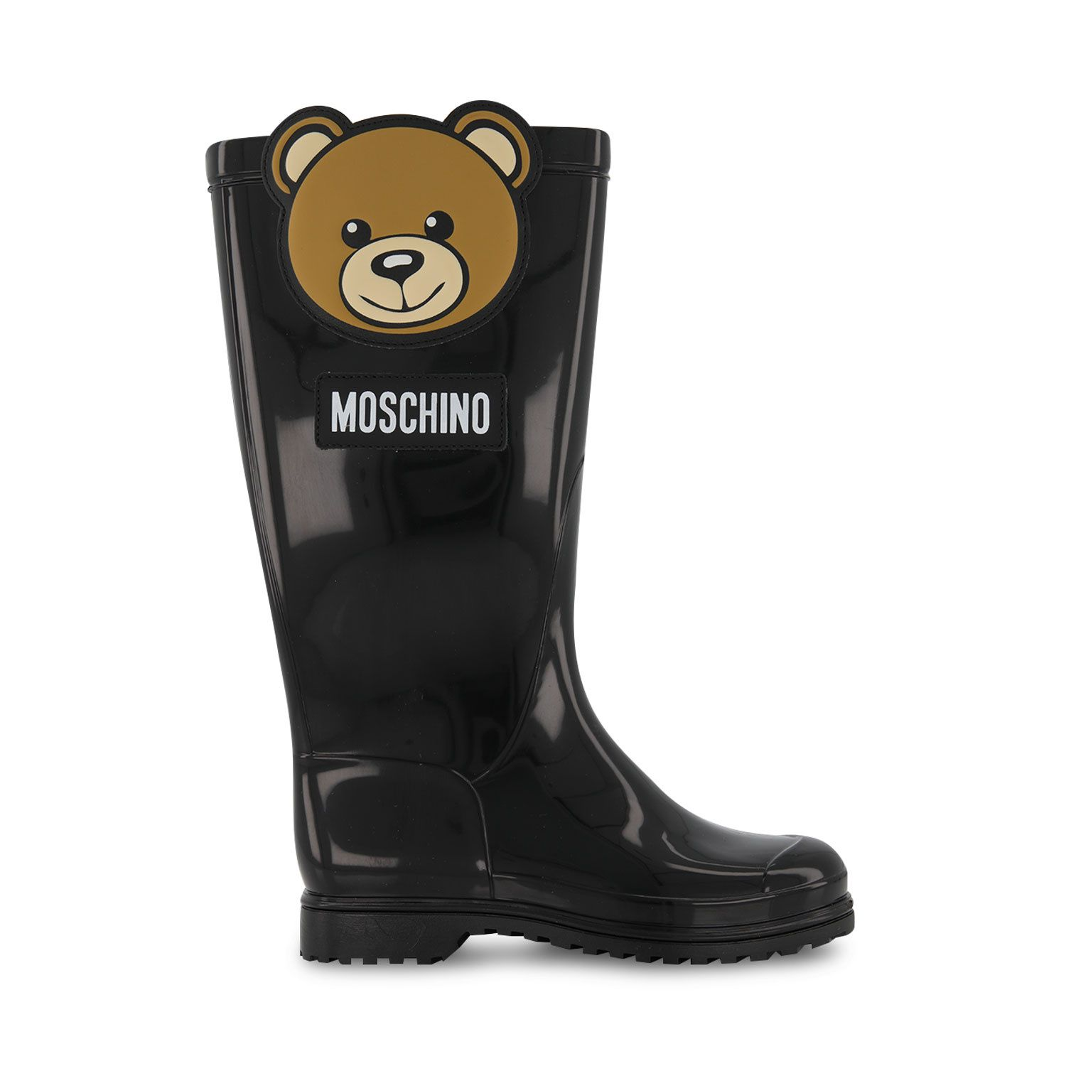 Picture of Moschino 68944 kids boots black