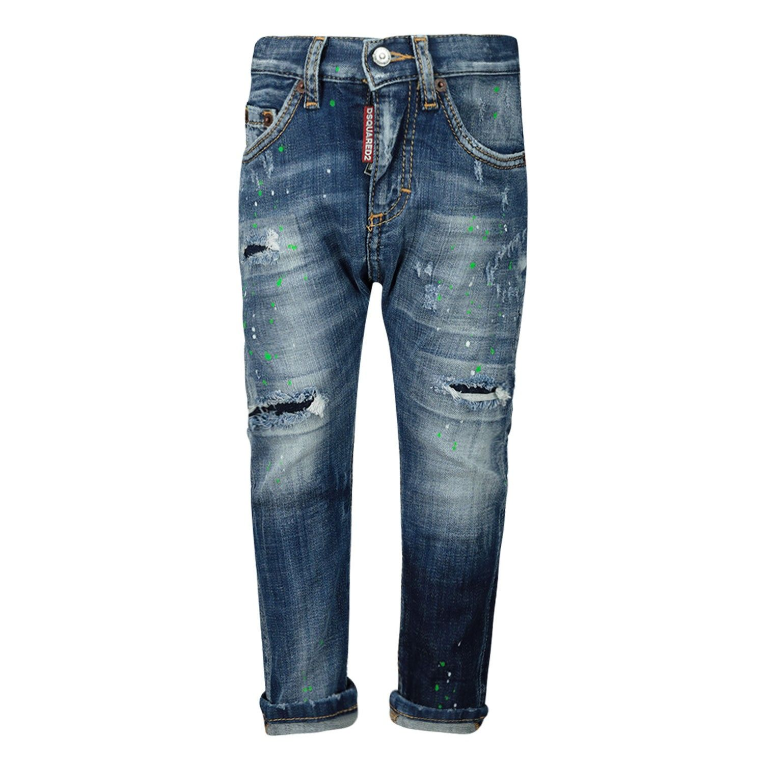 Picture of Dsquared2 DQ01TC D00YG baby pants jeans