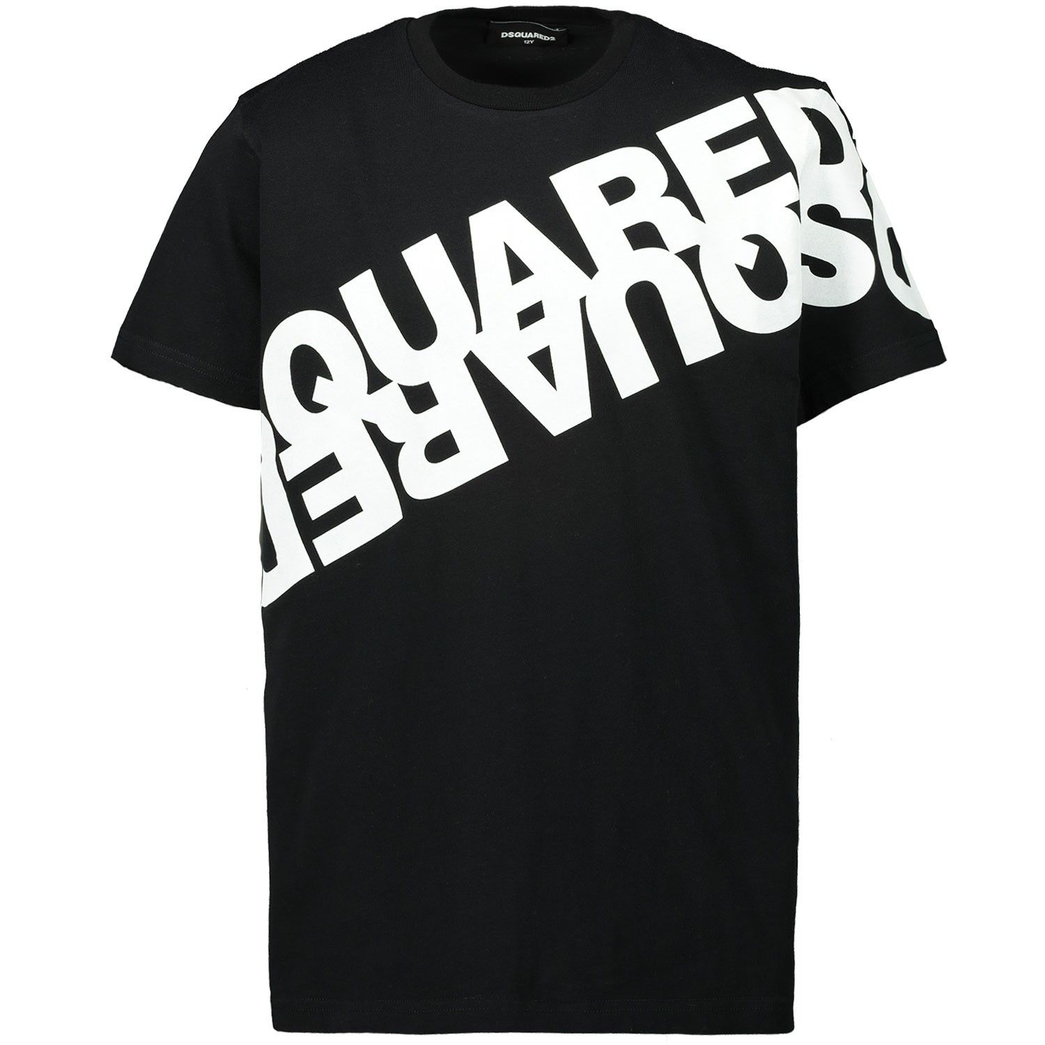 Picture of Dsquared2 DQ03WA kids t-shirt black