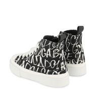 Afbeelding van Dolce & Gabbana DA0999 AO937 kindersneakers zwart