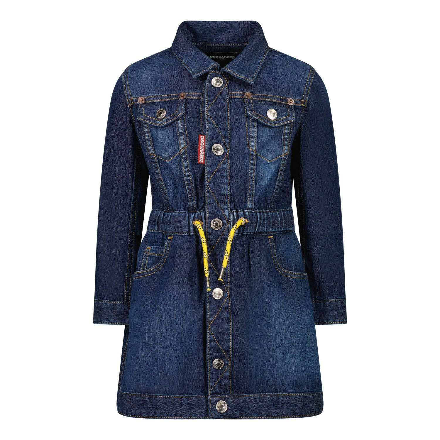 Picture of Dsquared2 DQ0368 baby dress jeans