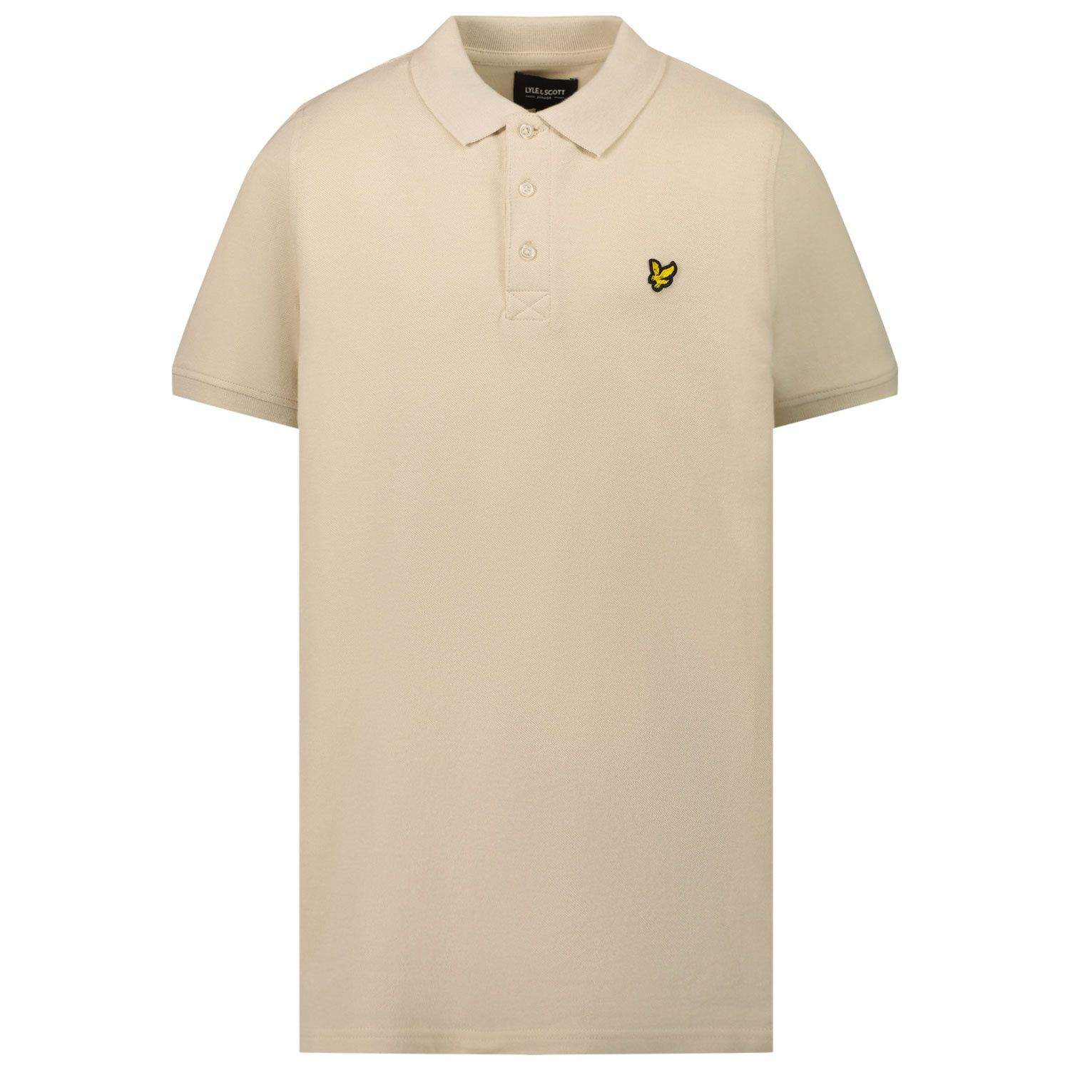 Picture of Lyle & Scott LSC0145S kids polo shirt sand