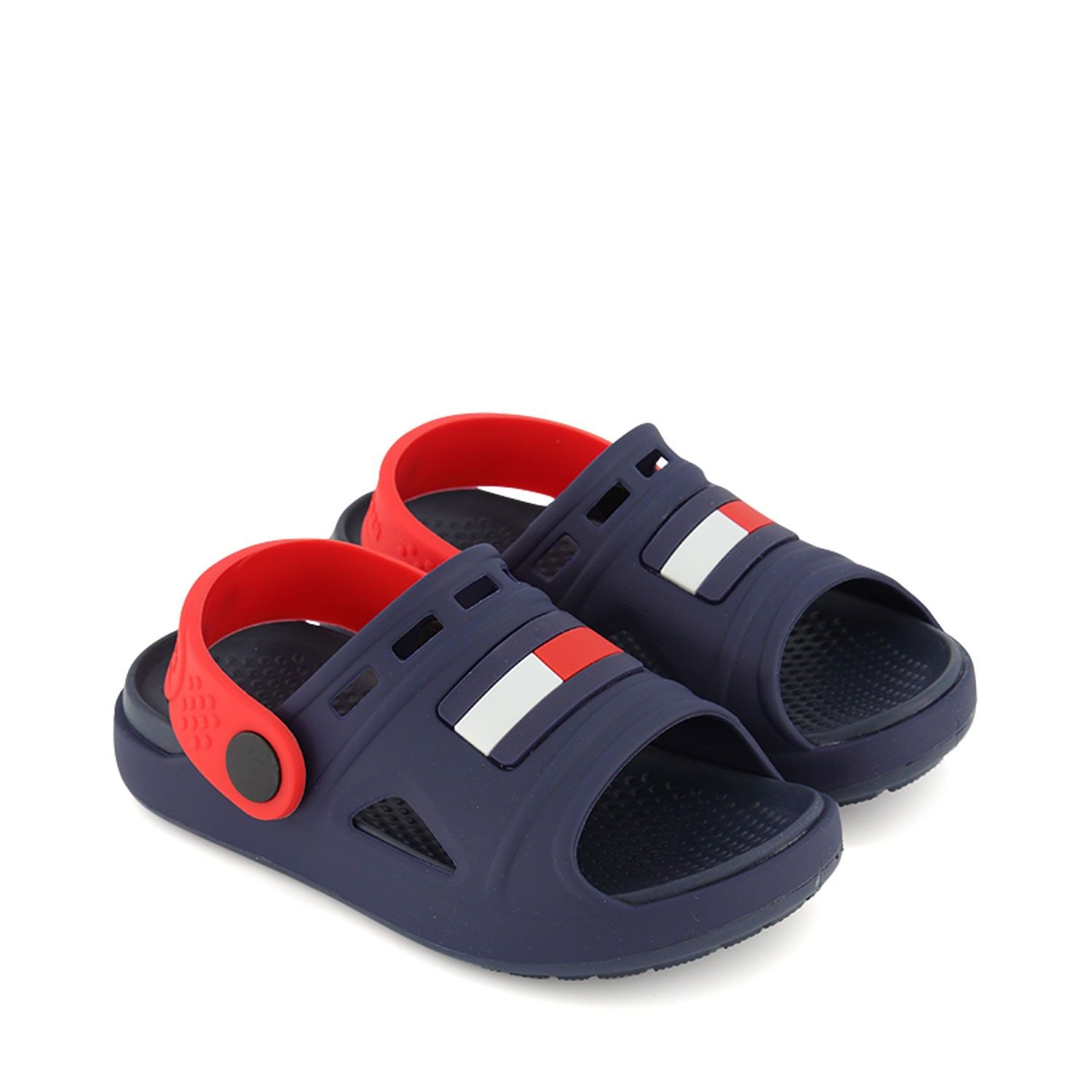Picture of Tommy Hilfiger 30744 kids flipflops navy