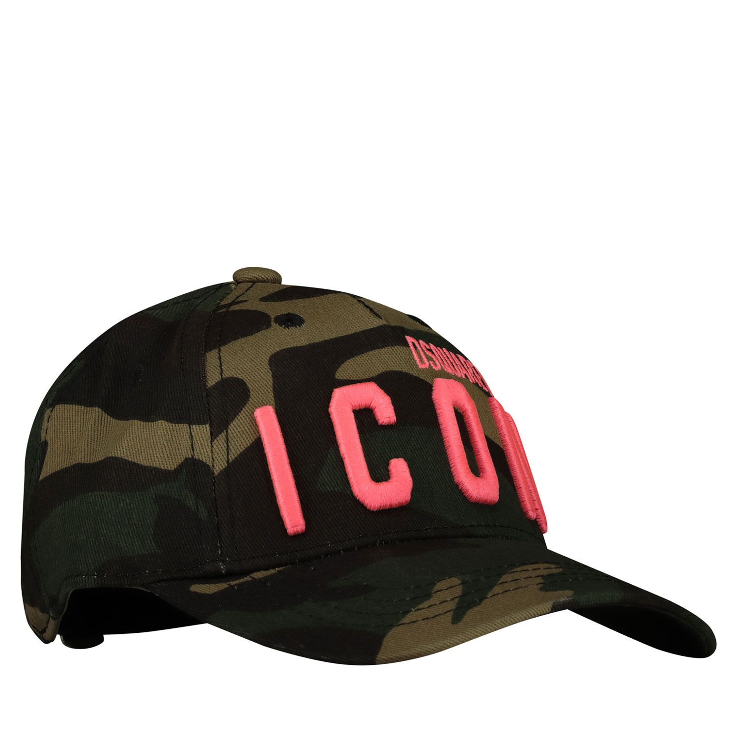Picture of Dsquared2 DQ04IC D003A baby hat fluoro pink