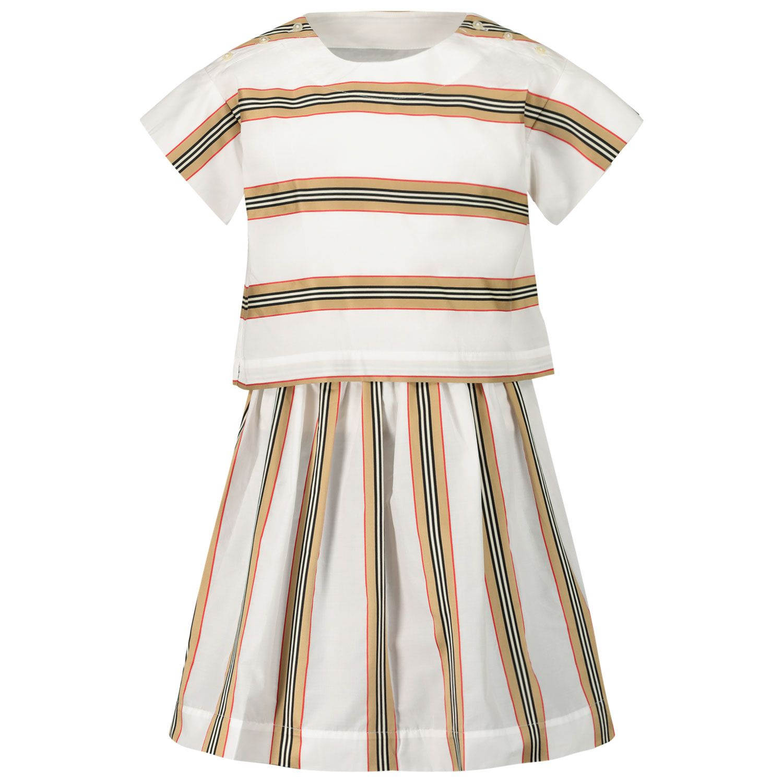 Bild von Burberry 8036489 Babykleid Weiß