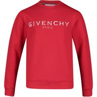 Picture of Givenchy H25110 kids sweater red