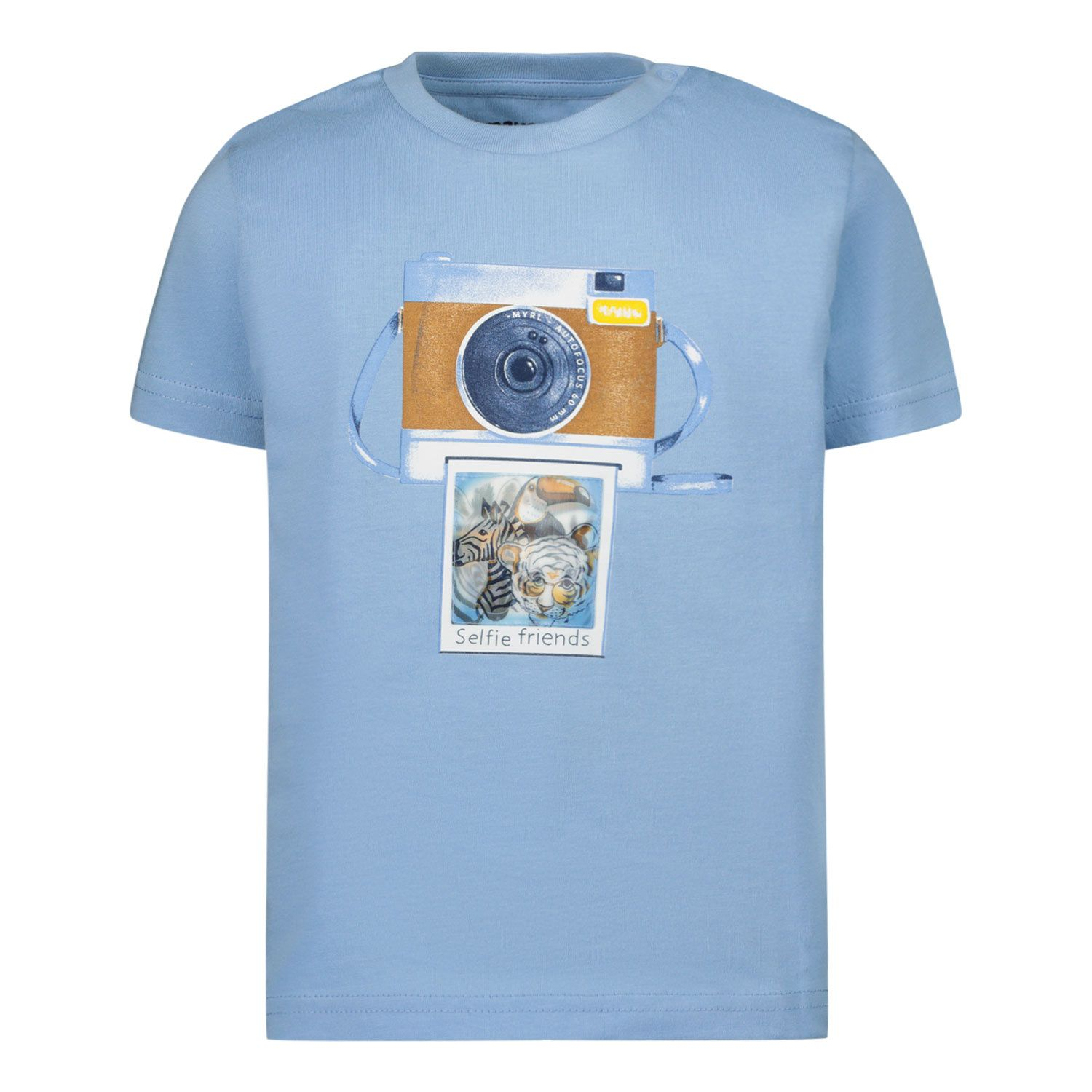 Picture of Mayoral 1003 baby shirt light blue