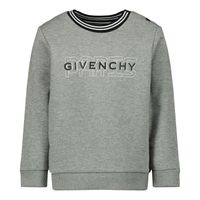Picture of Givenchy H05151 baby sweater grey