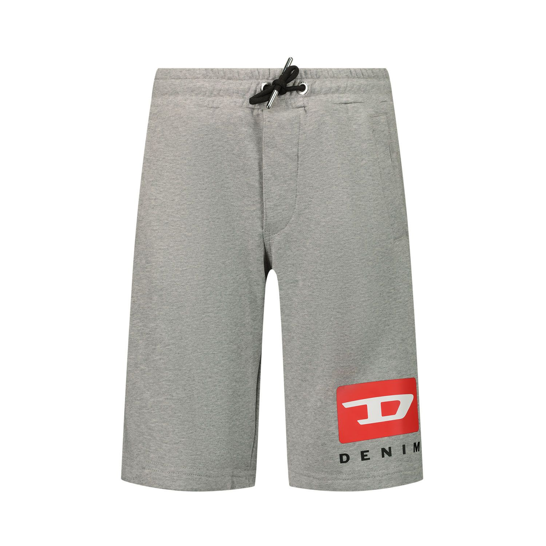 Afbeelding van Diesel J00085 kinder shorts grijs