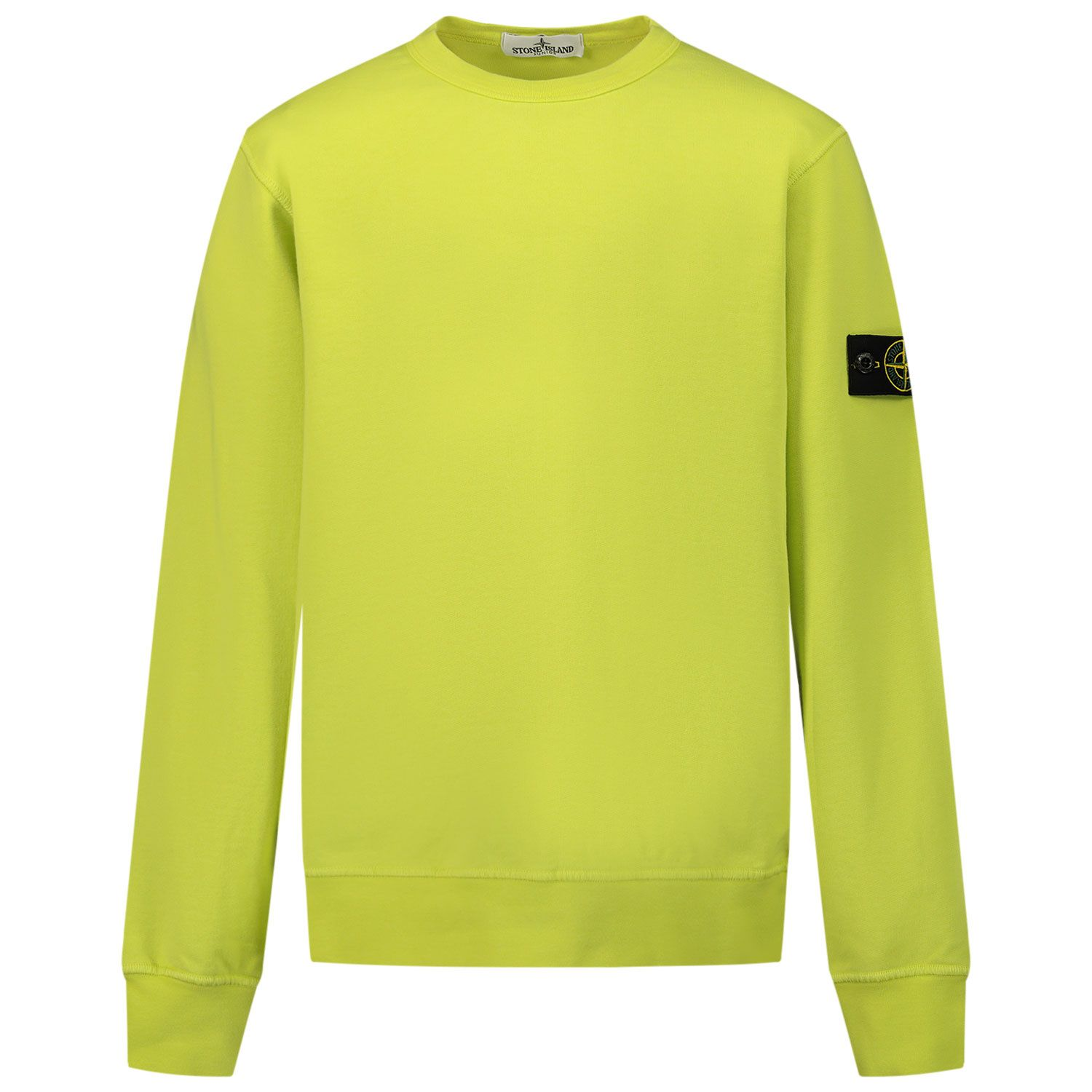 Picture of Stone Island 61340 kids sweater lime