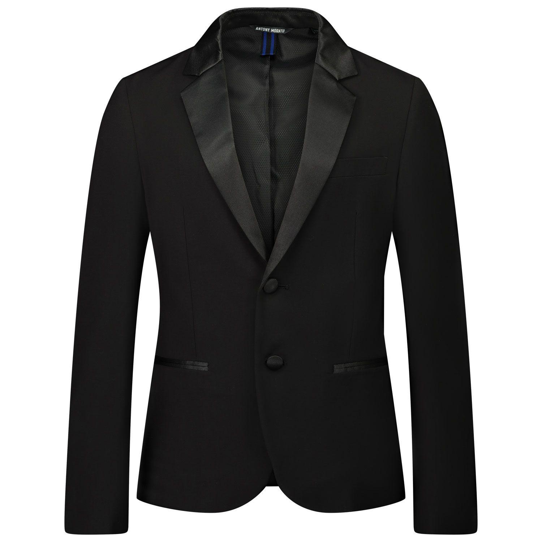 Picture of Antony Morato MKJS00001 kids jacket black